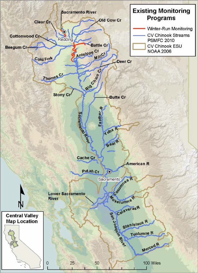 Central Valley Monitoring Programs