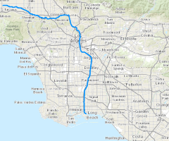 CalFish Programs Data Conservation And Management - Los angeles river map